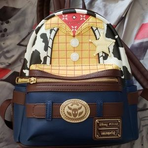 Loungefly ToyStory woody backpack